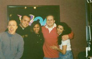 Deborah Cox, Julian, Eric and Candi