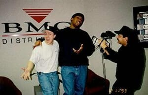 KRS One and Rocky Jones