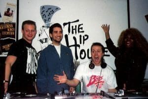 Andy Adams, Ricky Garcia and Shawn Christopher at the Hip House