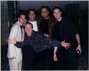 Bill, Jimmie, Julian and Eric B