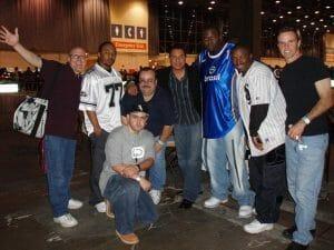 Fast Eddie, Kenny Jason, Laz, Farley, Mickey and Gabriel Rican
